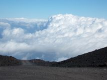 Breathtaking view, Etna stock images