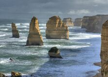 Free Breathtaking View From Castle Rock To 12 Apostles At Great Ocean Road Victoria Australia Stock Images - 171371834