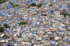 Breathtaking view of Jodhpur blue city from Mehrangarh Fort, Rajasthan, India Stock Photography