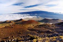 Breathtaking view of Mauna Loa volcano on the Big Island of Hawaii. Royalty Free Stock Photos
