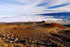 Breathtaking view of Mauna Loa volcano on the Big Island of Hawaii. Royalty Free Stock Photo