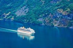 Breathtaking view of Sunnylvsfjorden fjord Royalty Free Stock Image