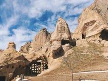 Breathtaking view of Valley in winter season, Cappadocia nationa Stock Images