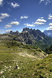 Breathtaking views from the dolomites Stock Photos