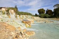 Breathtaking Views of Saturnia Thermal Baths Royalty Free Stock Photo