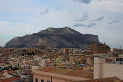 Breathtaking widok domy od dachu Palermo katedra palermo sicily Obrazy Royalty Free