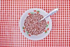 Breatkfasttijd Stock Foto's
