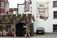 The Breazen head Stock Image