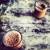 Brebaje tradicional de la bebida del té del tirón de Tarik el viejo Imagenes de archivo