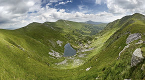 Brebeneskul湖(1800 m) 库存照片