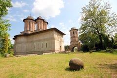 Brebu kloster - Rumänien Arkivbilder