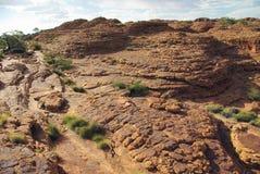 Breccia in Australian Desert Royalty Free Stock Images