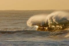 Brechende Welle Stockfoto