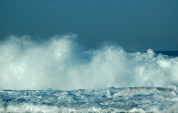 Brechende Wellen Stockfotografie