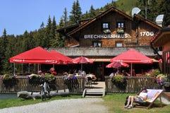 Brechhornhaus 免版税库存图片