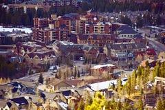Breckenridge Closeup. Breckenridge City Closeup. Breckenridge - Summit County, Colorado, United States. Colorado Photo Collection stock photo