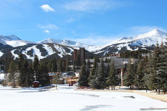 Breckenridge Colorado fotografering för bildbyråer