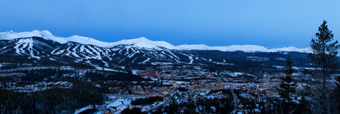 Breckenridge Colorado Royaltyfria Foton