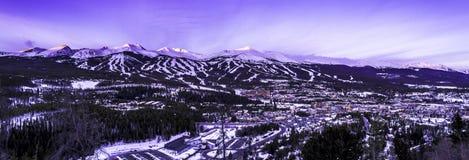Breckenridge Colorado royaltyfri foto