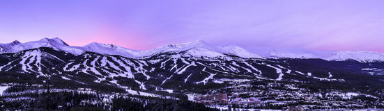 Breckenridge Colorado Stock Photo