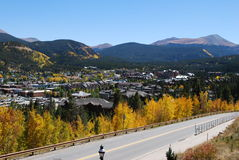 Breckenridge, Colorado - Fall Royalty Free Stock Image