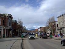 Breckenridge Colorado. Main Street in Breckenridge Colorado royalty free stock photos