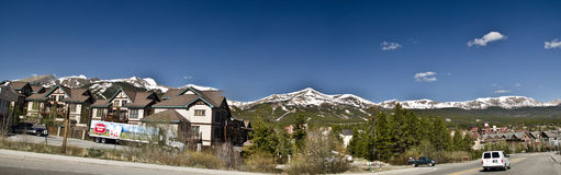 Breckenridge Colorado Ski Resort stock photo