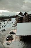 Breckenridge Colorado during snowy winter Stock Photo