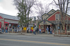 Breckenridge Colorado. A view main street of Breckenridge, Colorado, USA stock photography