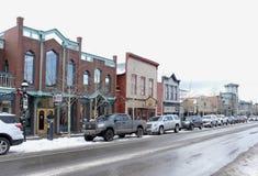 Breckenridge, Kolorado główna ulica Zdjęcia Stock