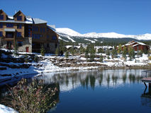 breckenridge le Colorado Photographie stock