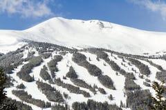 Breckenridge. Ski area in the Winter royalty free stock photos