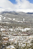Breckenridge. Ski area in the Winter royalty free stock images