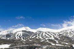 Breckenridge. Ski area in the Winter stock photography