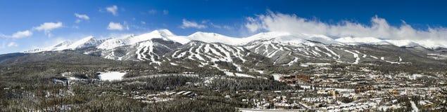 Breckenridge. Ski area in the Winter stock photos