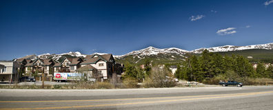 Breckenridge  Ski Resort Royalty Free Stock Photography