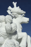 Breckenridge Snow Sculpture Competition stock photography