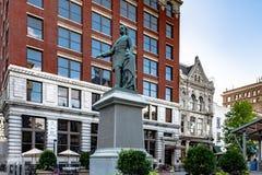 Breckinridge statue in Lexington royalty free stock photography