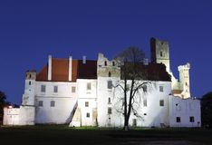 Breclav chateau Stock Images