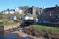 Brecon城堡 库存图片