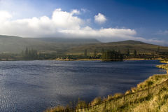 Brecon Beacons. The Brecon Beacons in Autumn taken from the A470 Royalty Free Stock Photo
