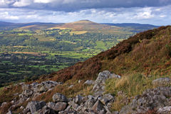 Brecon Beacons. From the Blorenge, Wales Stock Images