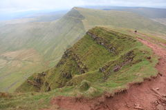 Brecon Beacons Landscape Royalty Free Stock Photos