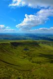 Brecon Beacons National Park. A view of the Brecon Beacons from the top of Pen-Y-Fan, which is the highest point in southern Britain Royalty Free Stock Photography