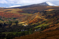 Brecon Beacons National Park. Landscape of Brecon Beacons National Park of Wales, UK Stock Image