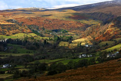 Brecon Beacons National Park. Landscape of Brecon Beacons National Park of Wales, UK Stock Photos