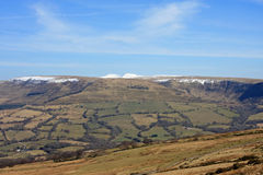 Brecon Beacons Royalty Free Stock Photo