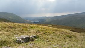 Brecon Beacons United Kingdom. Mountains in Brecon Beacons royalty free stock photography