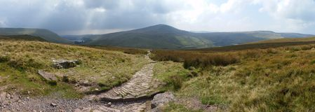 Brecon Beacons United Kingdom. Mountains in Brecon Beacons royalty free stock image