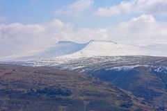 Brecon Beacons. Wales in winter Stock Photography